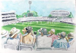 Art for Fans - Cricket