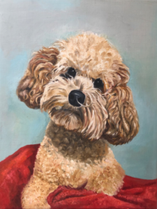 Dog - Oil Painting