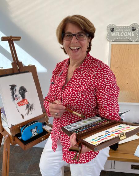 June Schneider Happy Painting