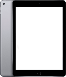 iPad Air Black Bezel
