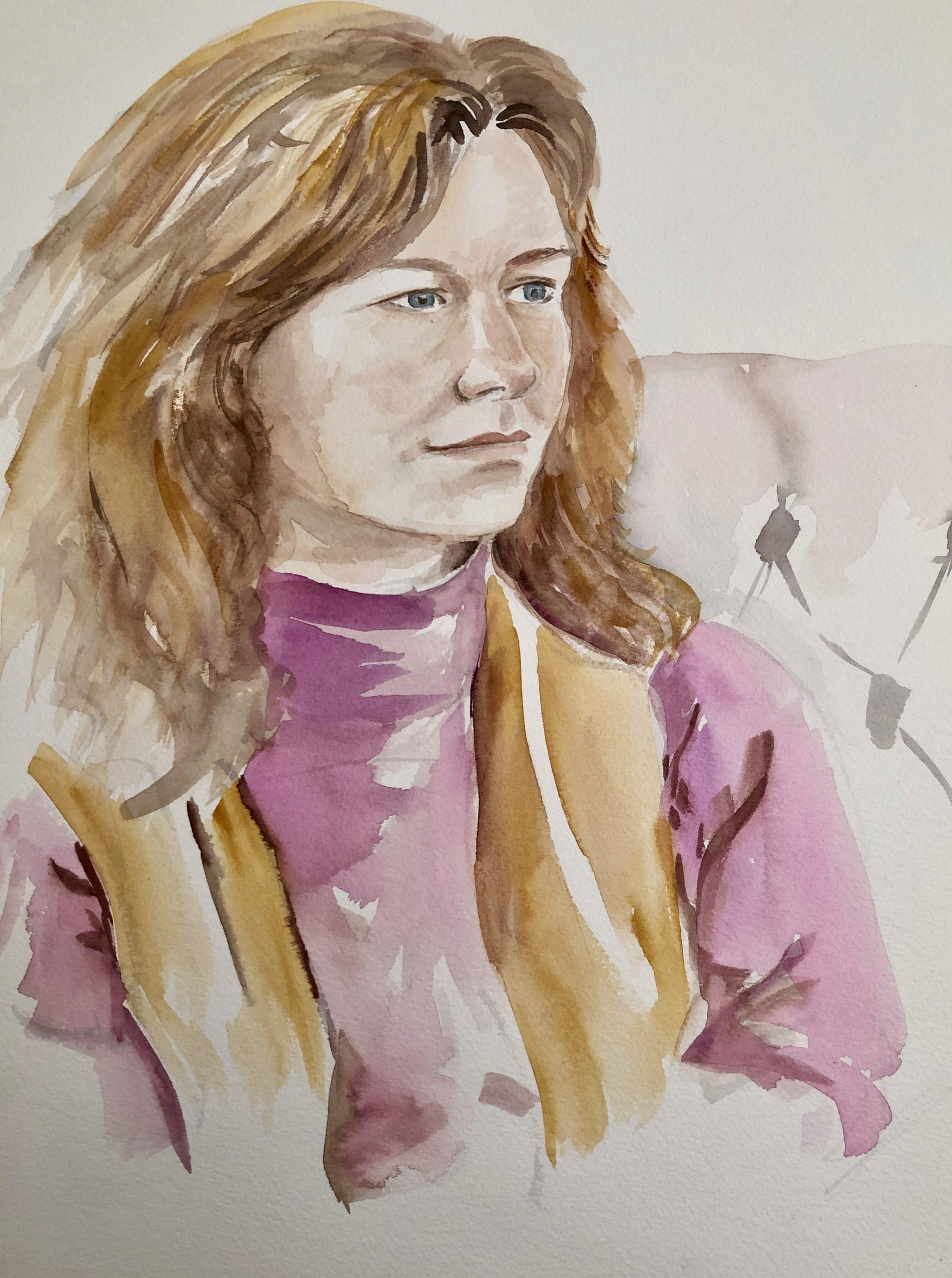 Deborah watercolour