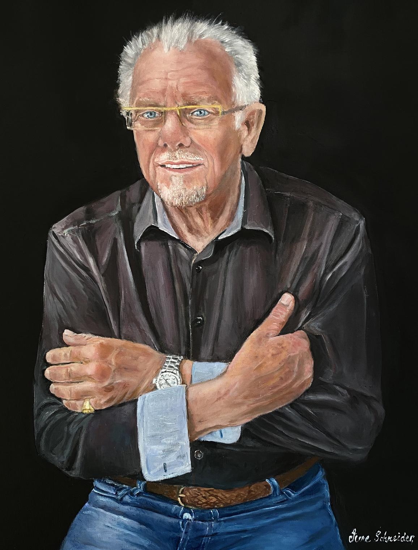 John Life Portrait in Oil