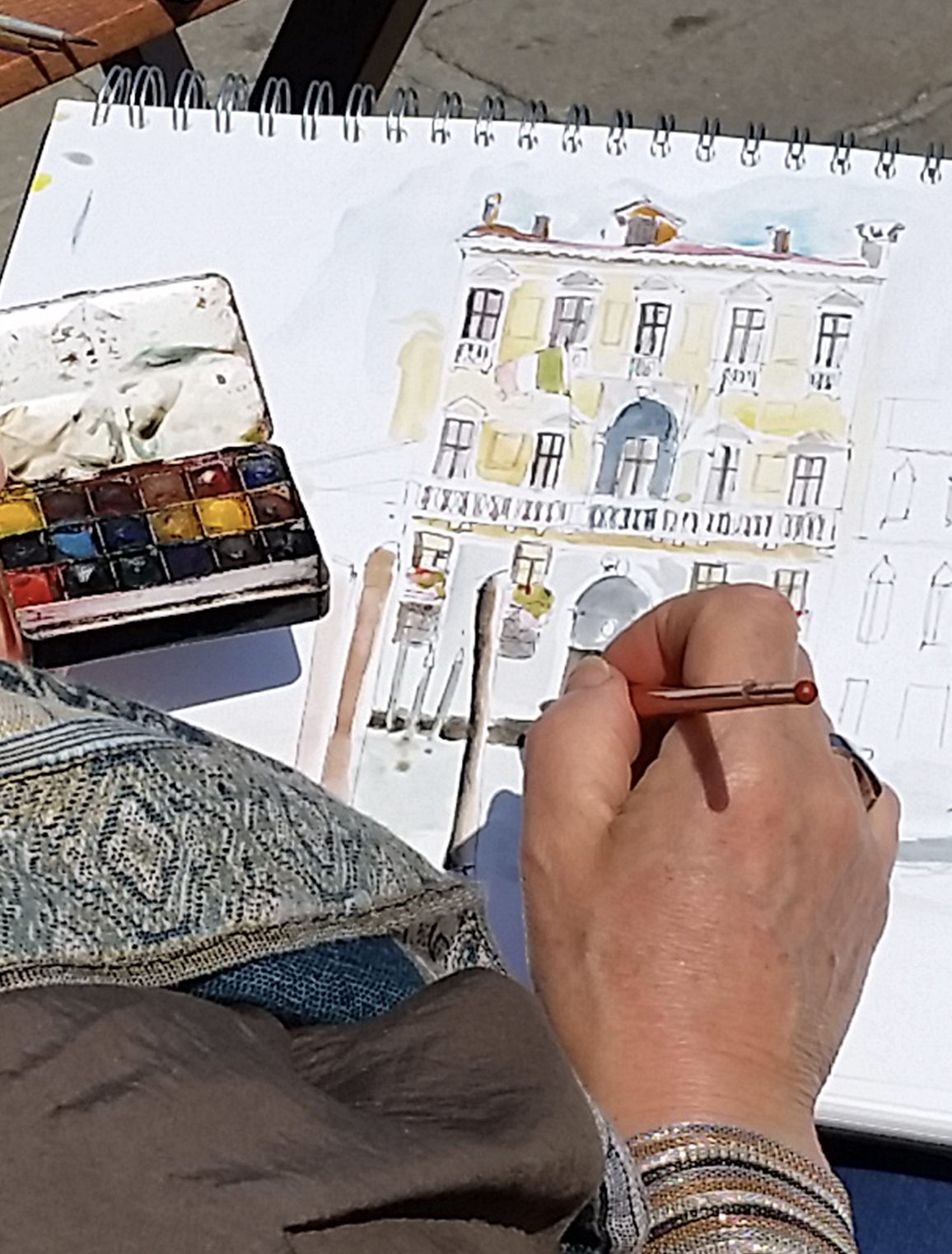 June painting in Venice
